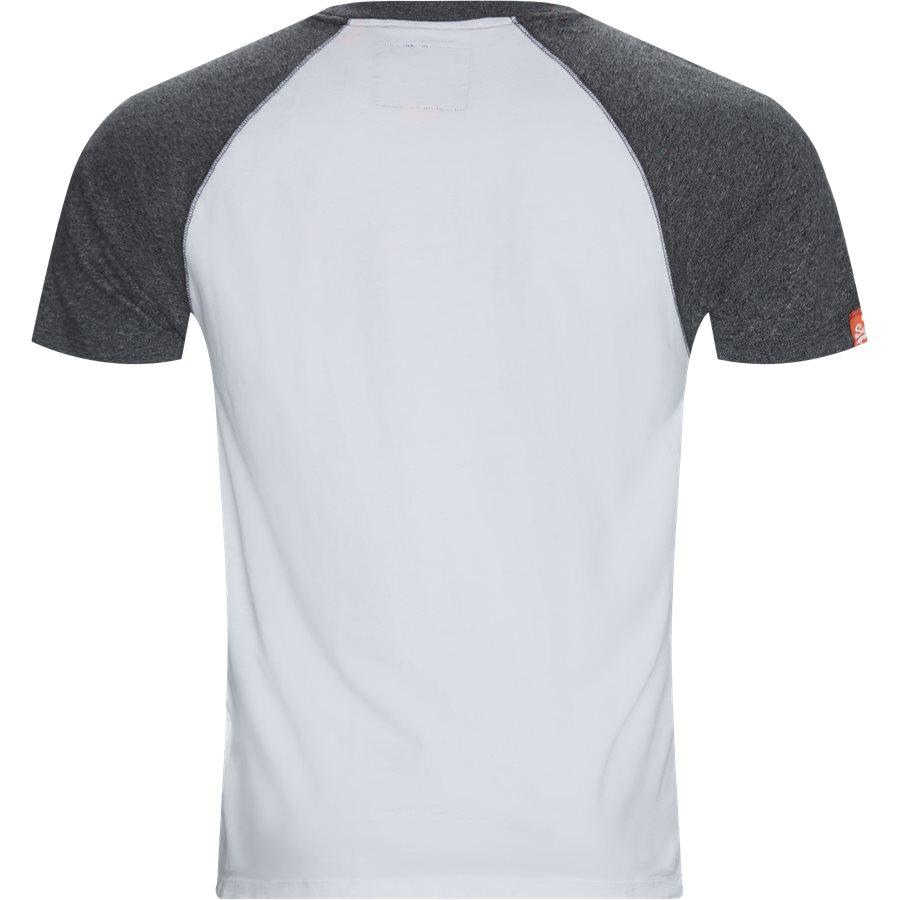 M1010 - M1010 T-shirt - T-shirts - Regular - HVID/GRÅ 01C - 2